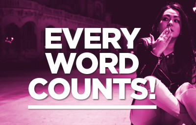 Every Word Counts